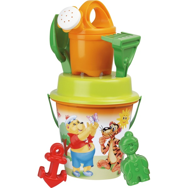 Poppy and Friends Bucket Set with Watering Can and Accessories