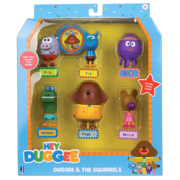 Hey Duggee Duggee and The Squirrels Set