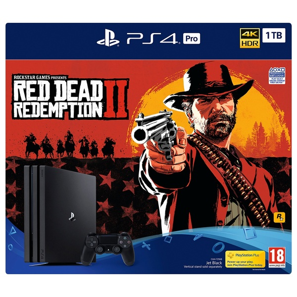 PS4 Pro Red Dead Redemption 2 Bundle