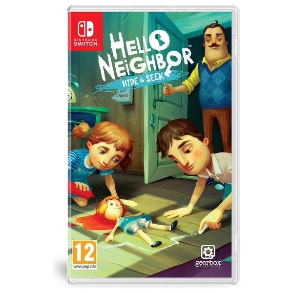 Hello Neighbor Hide Seek Nintendo Switch Smyths Toys Ireland