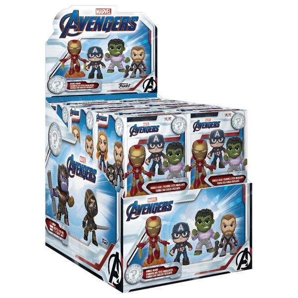 Case of 12 Figures Funko Mystery Minis Avengers Endgame