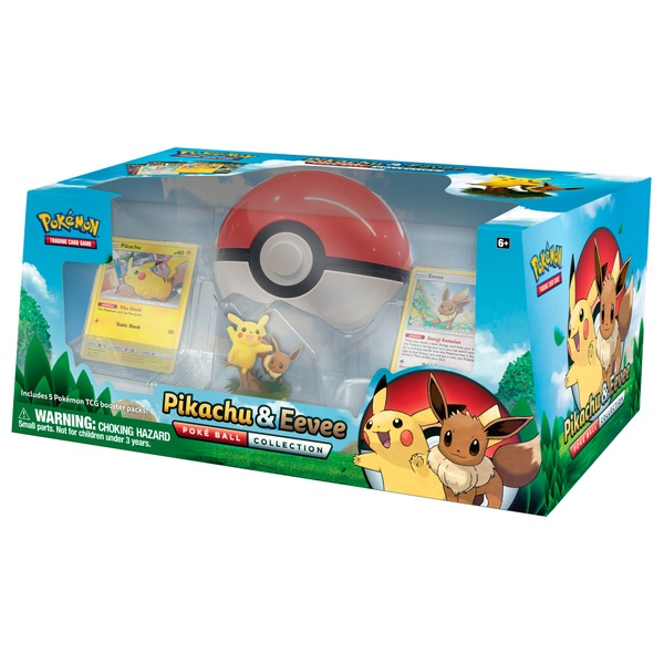 Pokémon Trading Card Game: Pikachu & Eevee Poké Ball Collection
