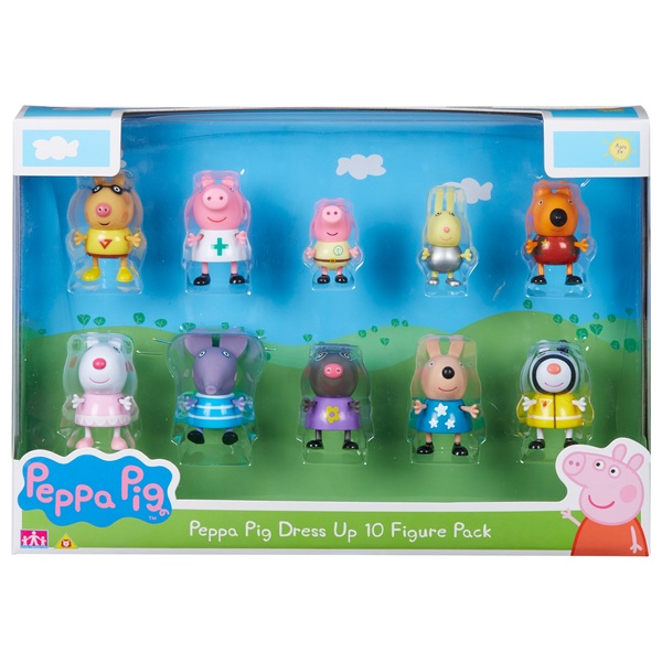Peppa Pig and Friends Dress Up Pack