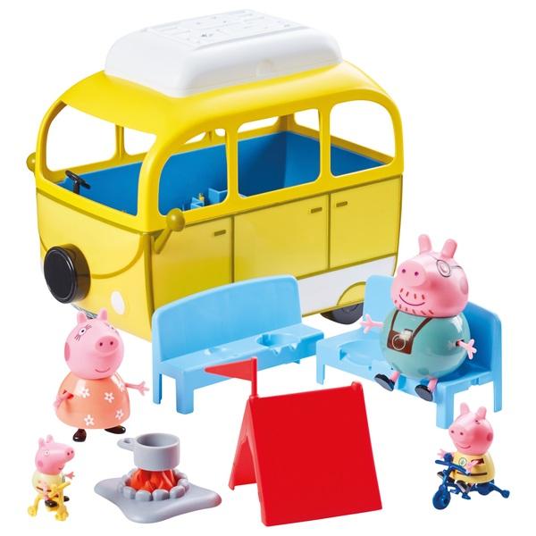 Peppa Pig's Camping Trip Playset