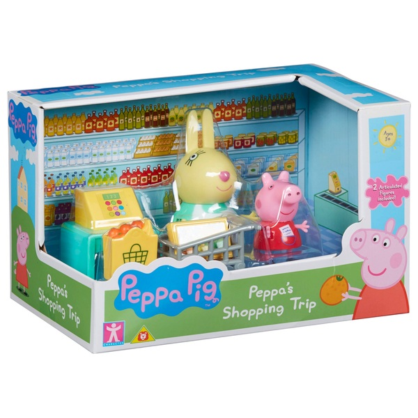 Peppa Pig Messy Kitchen Shopping Set Assortment Peppa Pig Uk