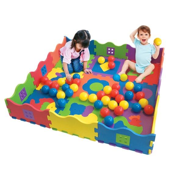 Big Steps Foam Activity Ball Pit