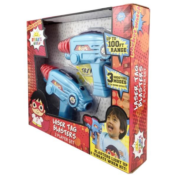 Ryan's World Laser Tag Blasters - Ryan's World UK