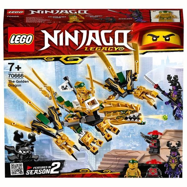 LEGO 70666 NINJAGO The Golden Dragon Action Figure