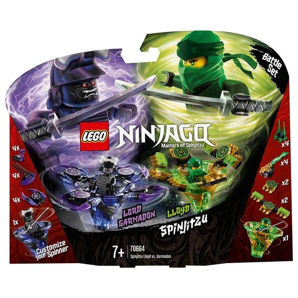 Lego 70664 Ninjago Spinjitzu Lloyd Vs Garmadon Lego New