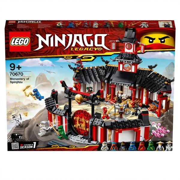 LEGO 70670 NINJAGO Monastery of Spinjitzu Ninja Set