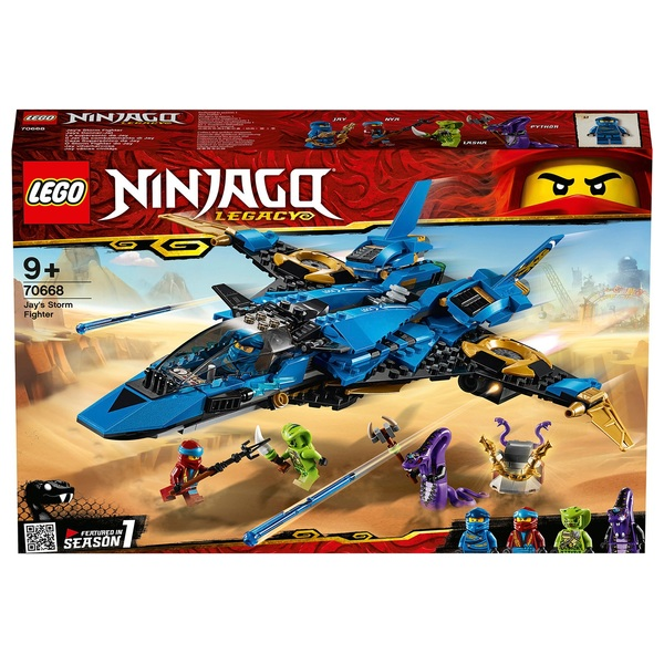 LEGO 70668 NINJAGO Jay's Storm Fighter Set