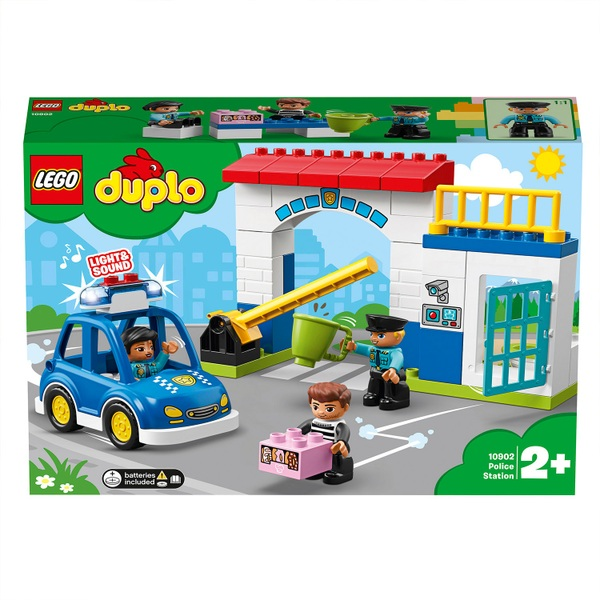 LEGO 10902 DUPLO Town Police Station Building Set