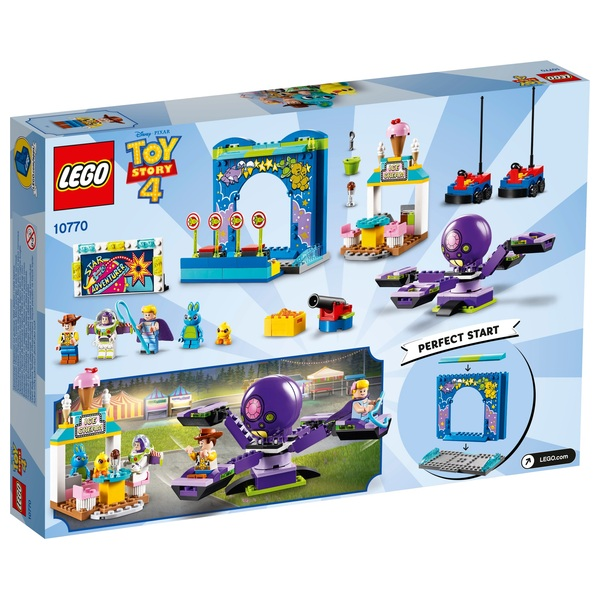 Lego 10770 Toy Story 4 Buzz And Woody S Carnival Mania Lego Toy