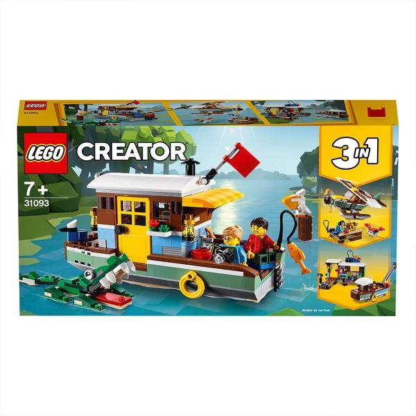 LEGO 31093 Creator Riverside Houseboat