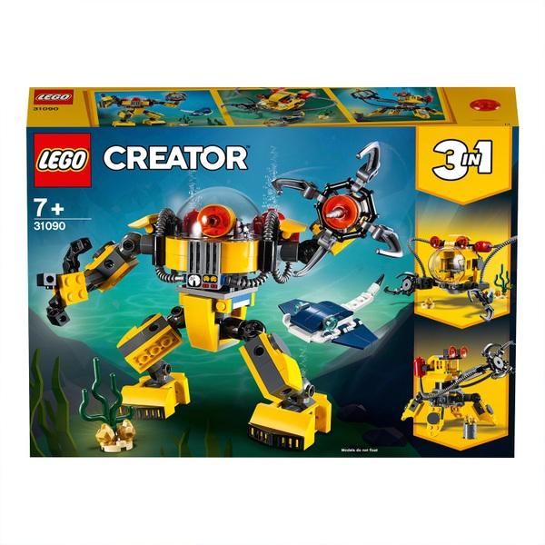 LEGO® Creator 31090 Unterwasser-Roboter LEGO Bausteine & Bauzubehör LEGO Bau- & Konstruktionsspielzeug