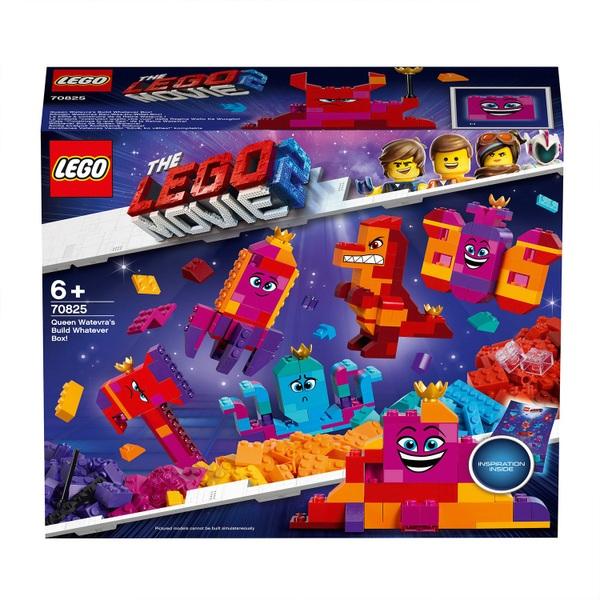 LEGO 70825 The Lego Movie 2 Queen Watevra's Build Whatever Box - LEGO Movie  UK
