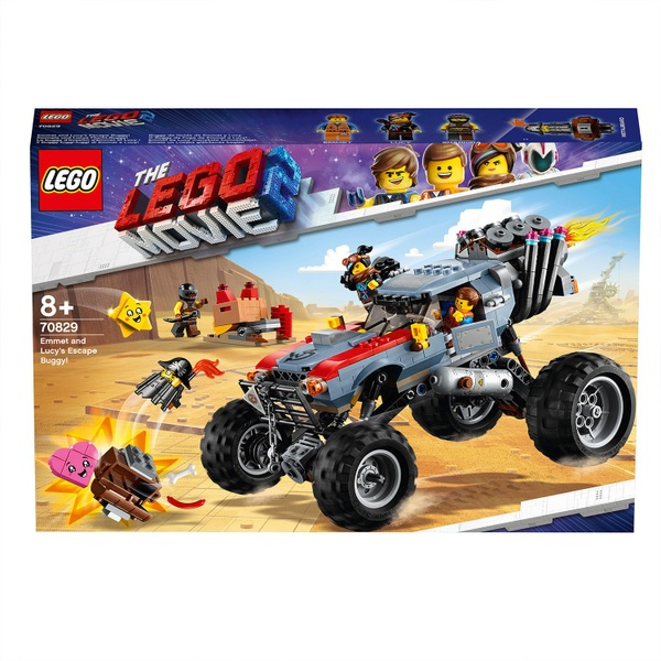 LEGO 70829 The Lego Movie 2 Emmet and Lucy's Escape Buggy