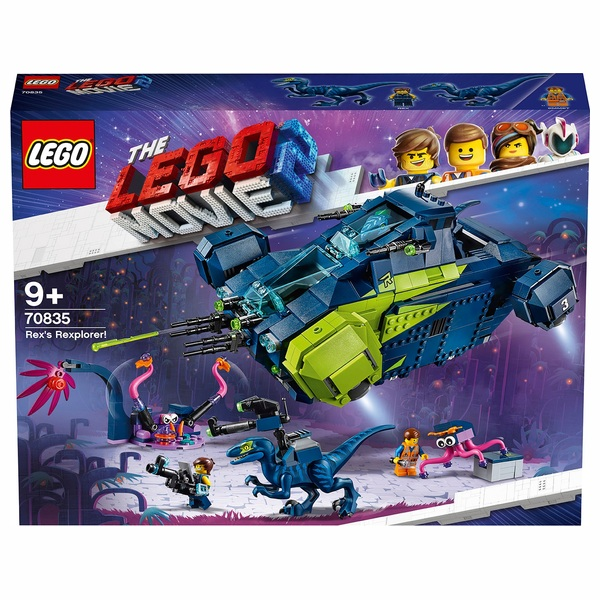 LEGO 70835 The Lego Movie 2 Rex's Rexplorer