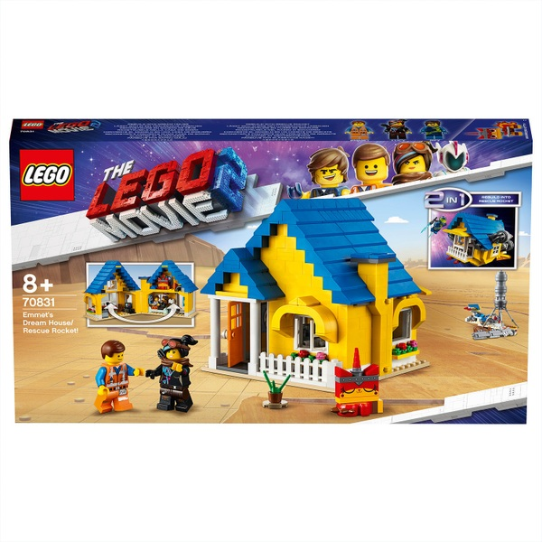LEGO 70831 The Lego Movie 2 Emmet's Dream House/Rescue Rocket