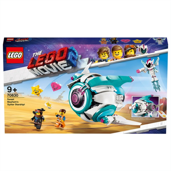 plus Sweet Mayhem Mini LEGO 70830 Movie 2 with with Emmet and Lucy Minifigures