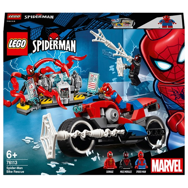 LEGO 76113 Marvel Spider-Man Bike Rescue, Superhero Toys