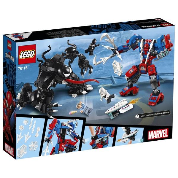 LEGO 76115 Marvel Super Heroes Spider-Man Spider Mech vs  Venom - LEGO  Marvel Super Heroes UK