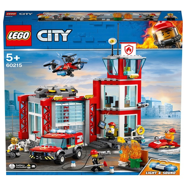 LEGO 60215 City Fire Station Building Set