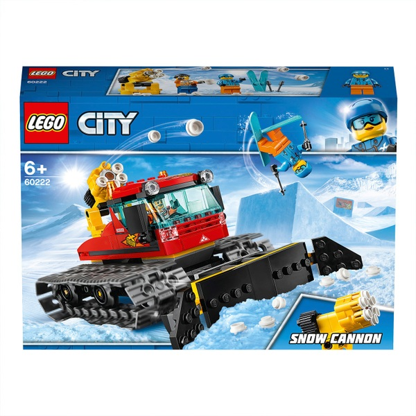 LEGO 60222 City Snow Groomer Plough Winter Holidays Toy