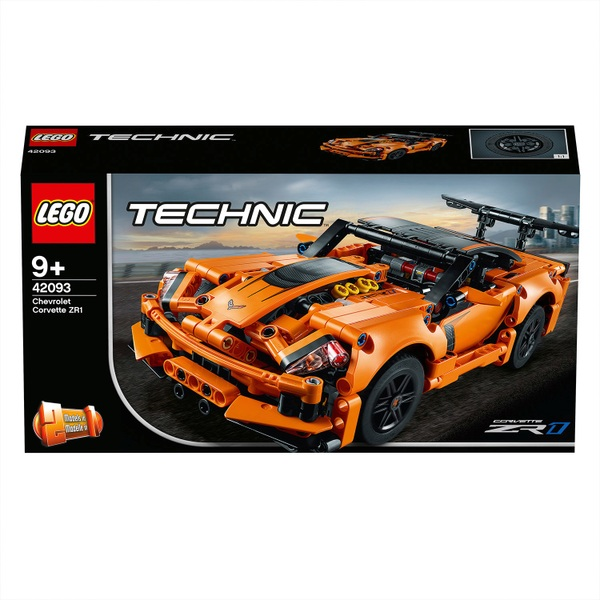 LEGO 42093 Technic Chevrolet Corvette ZR1 Rally Car Set