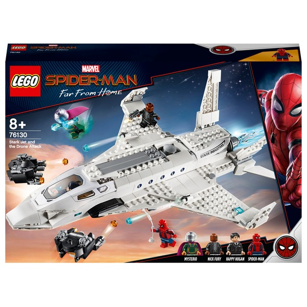 LEGO 76130 Marvel Stark Jet and the Drone Attack Toy