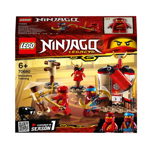 LEGO 70680 Ninjago Monastery Training Ninja Playset