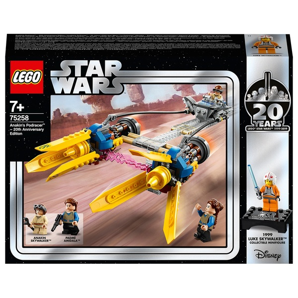 LEGO 75258 Star Wars Anakin's Podracer 20th Anniversary Edition