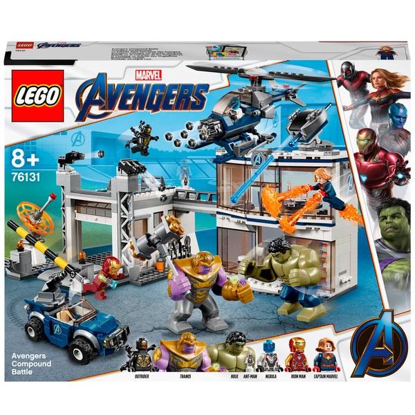 LEGO 76131 Marvel Avengers Endgame Avengers Compound Battle Set