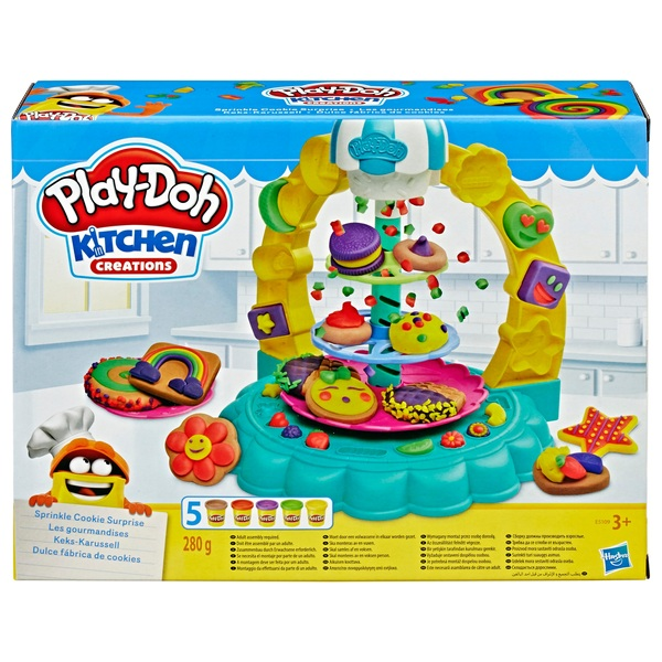 Play Doh Kitchen Creations Sprinkle Cookie Surprise Play Food Set