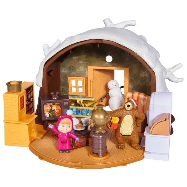 Masha and The Bear: Winter Bear Tree House Playset