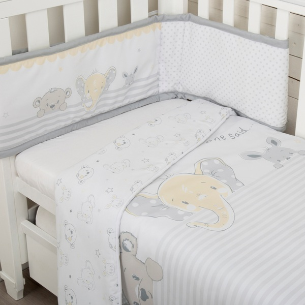 CuddleCo Comfi Dreams 2 Piece Bedding Set Sleep Tight