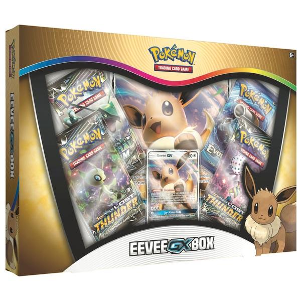 Pokémon Trading Card Game: Eevee-GX Box