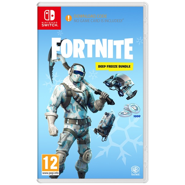How to get the deep freeze bundle fortnite for free