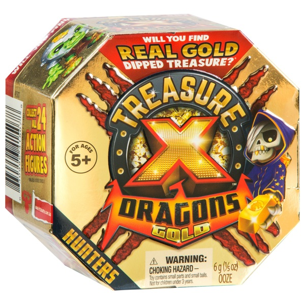 Treasure X Dragons Gold - Hunters Pack (Single Pack)