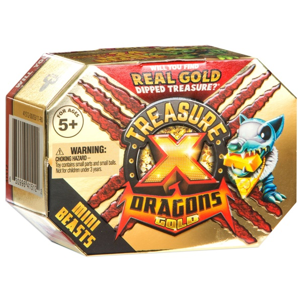 Treasure X Dragons Gold - Mini Beasts Pack