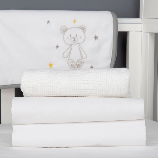 CuddleCo My First Cot Bed Set