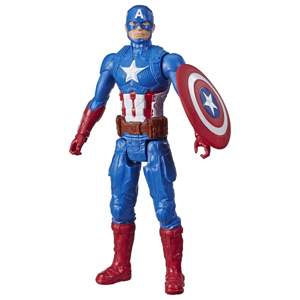 Captain America Marvel Avengers: Titan Hero Series 30cm Action Figure Inspired by Marvel Universe