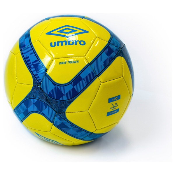 Umbro Wave Trainer Blue Yellow Football