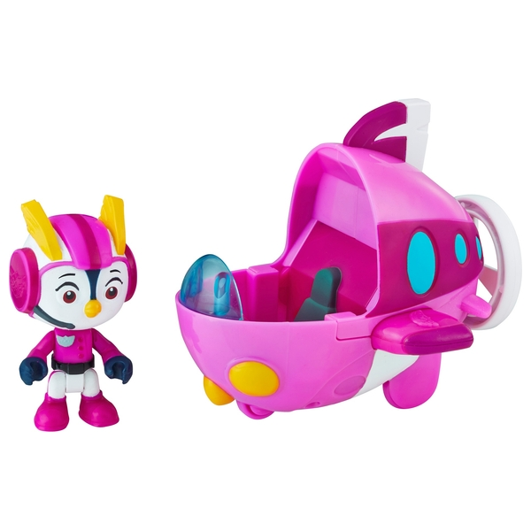 Top Wing Penny Figure and Vehicle