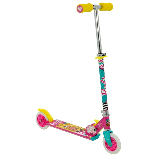Barbie Folding Inline Scooter
