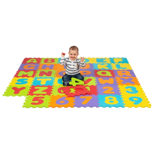 Big Steps Play Alphabet & Number Puzzle Foam Mat