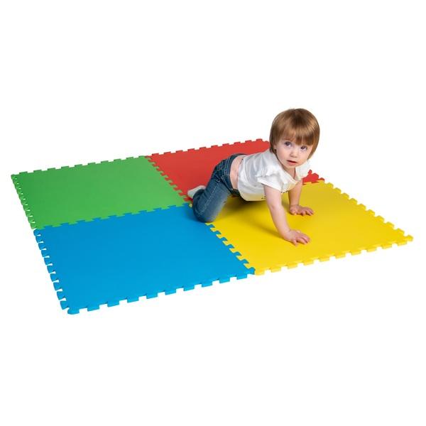Big Steps Play Colourful Foam Floor Mat