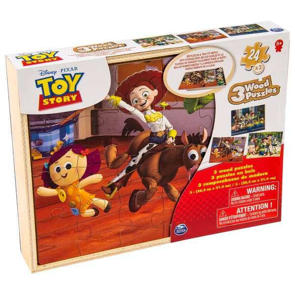 Toy Story 3 Pack Wood Puzzle