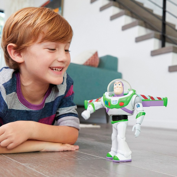 Ultimate Walking Buzz Lightyear Figure Disney Pixar Toy Story 4