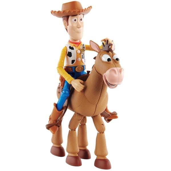 Disney Pixar Toy Story Woody and Bullseye Adventure Pack ...